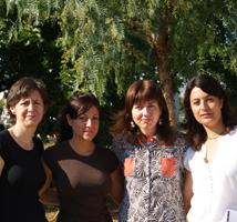 Algunos miembros del Equipo Terapéutico